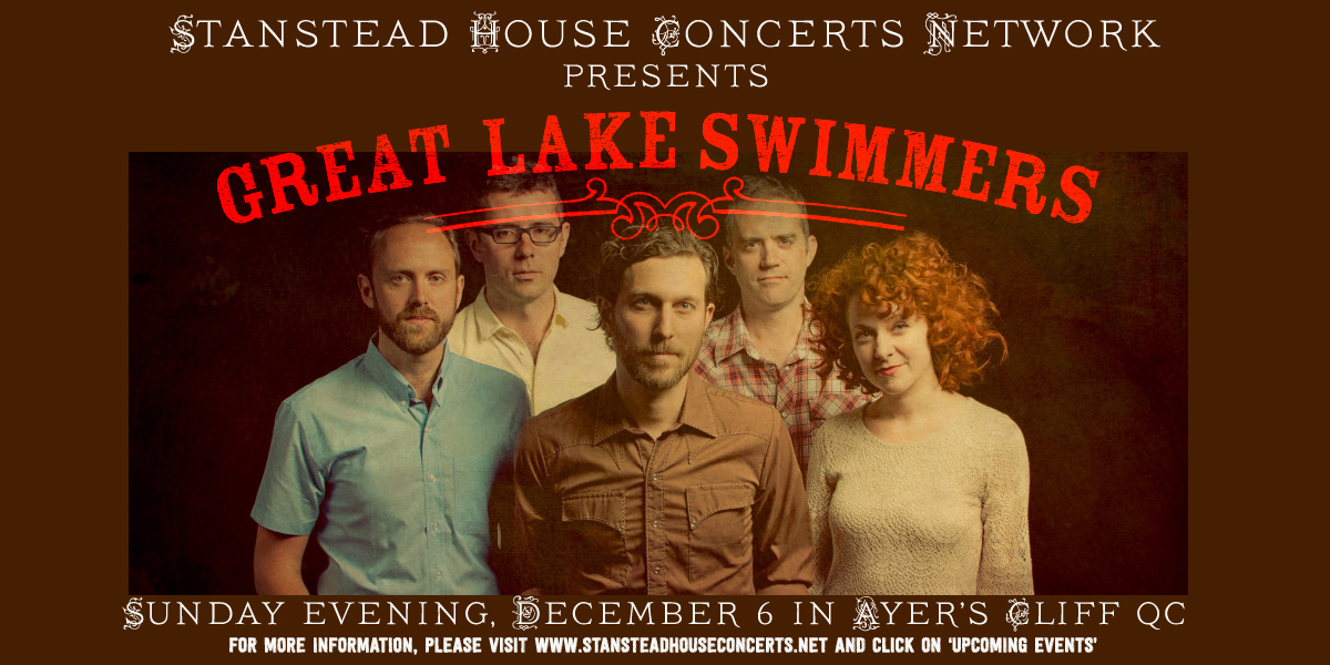 Great Lake Swimmers – Dec 6 2015
